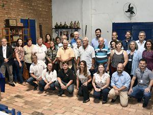 Evento de assinatura dos contratos de Pagamento por Serviços Ambientais com proprietários rurais e parceiros da prefeitura de Jundiaí.