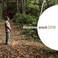 Capa do Relatório Anual da TNC Brasil em 2018, com foto de capa de Felipe Fittipaldi.