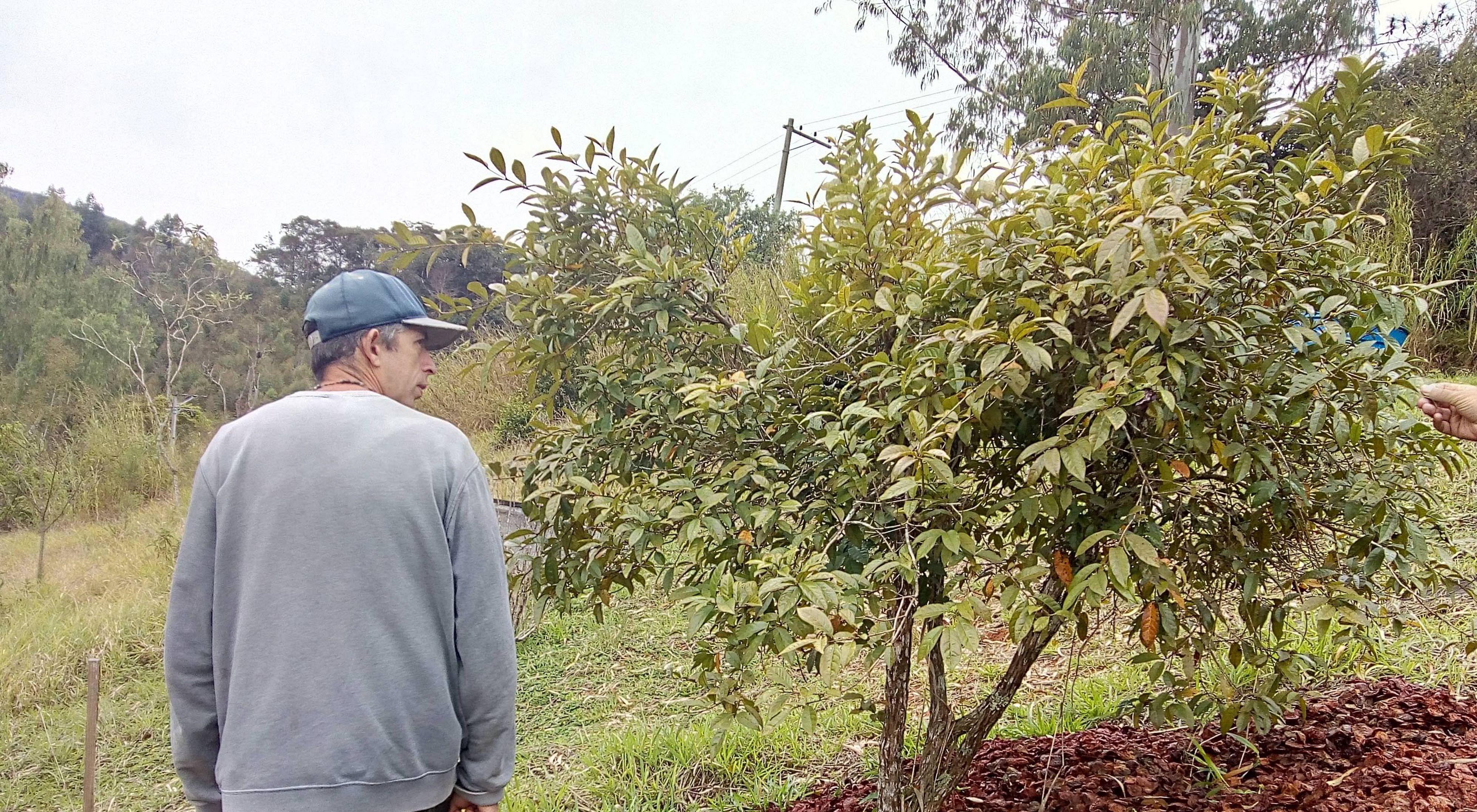"""O produtor rural Roberto """"Boy"""" na propriedade rural da família próximo a nascente do Rio Tietê, em Salesópolis-SP."""