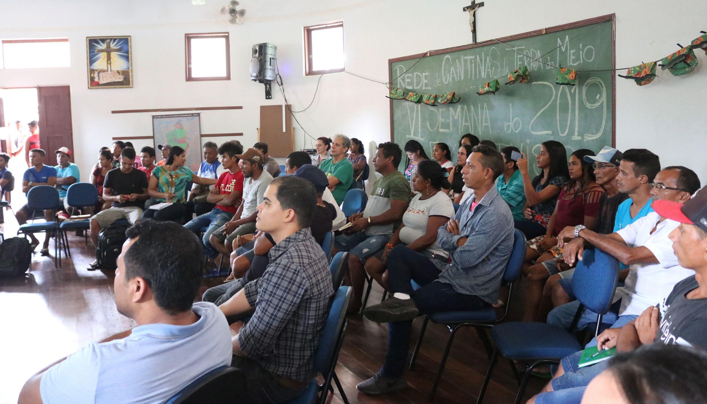 Participantes da SEMEX 2019 em Altamira-PA.