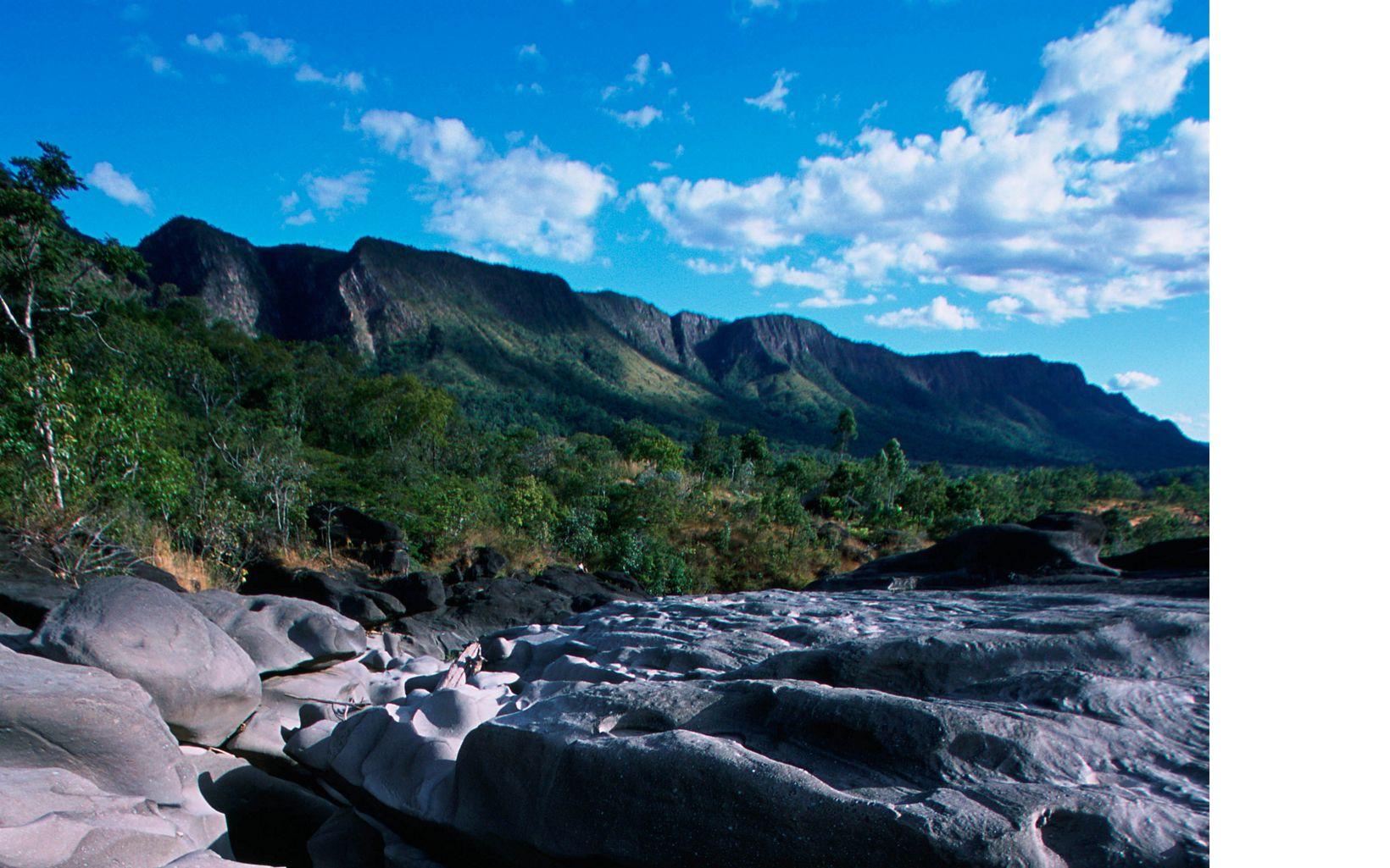 Vale da Lua, no Cerrado, próximo ao Parque Nacional da Chapada dos Veadeiros.