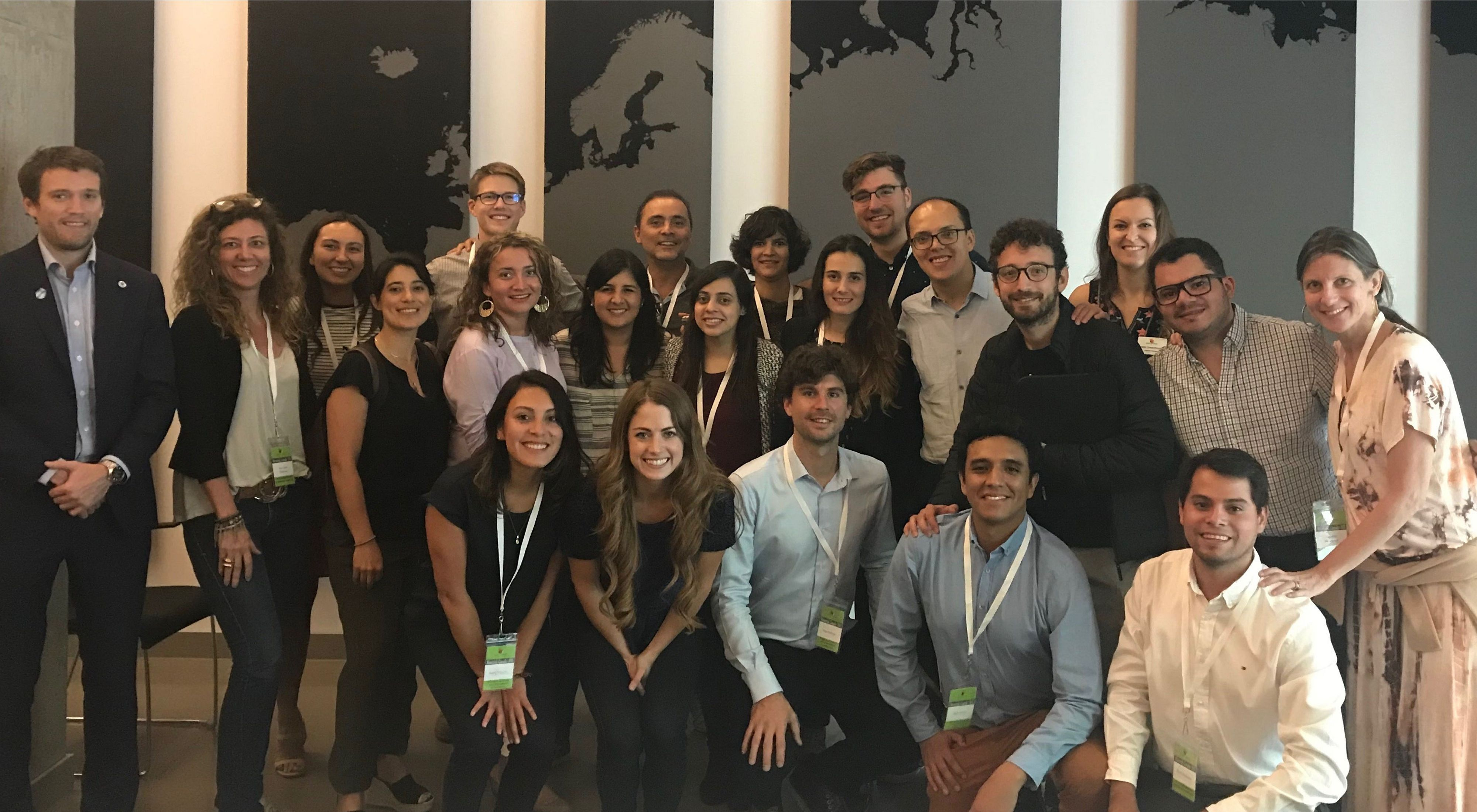 Parte dos delegados do Youth Congress For Sustainable Americas