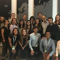 Parte dos delegados do Youth Congress For Sustainable Americas