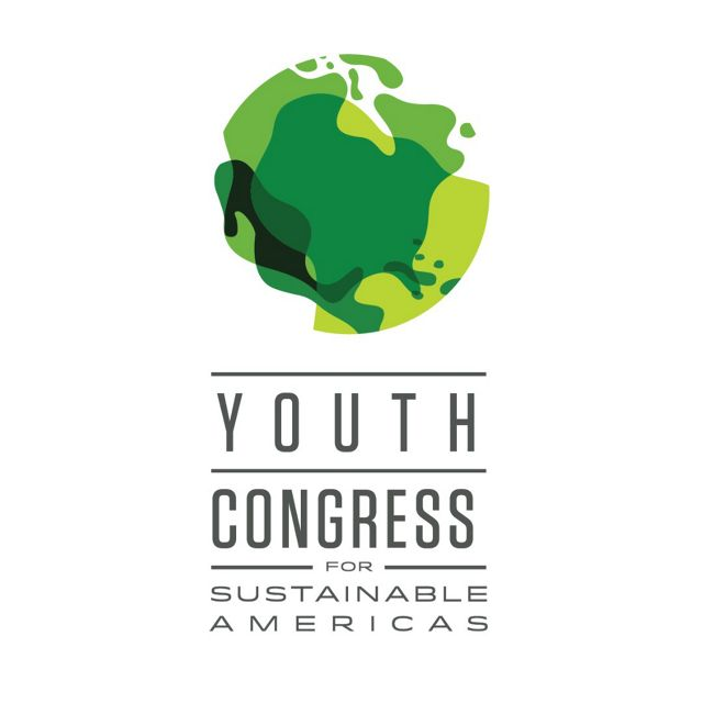 Identidade visual do Youth Congress for Sustainable Americas