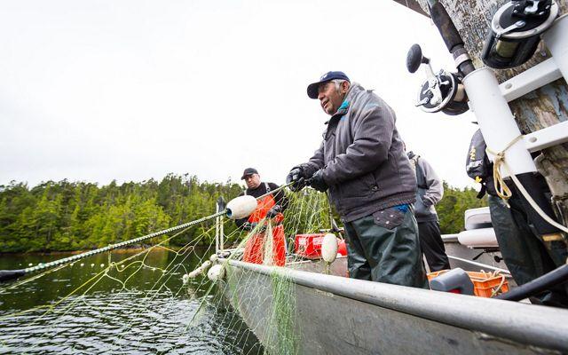 Fishing in Great Bear