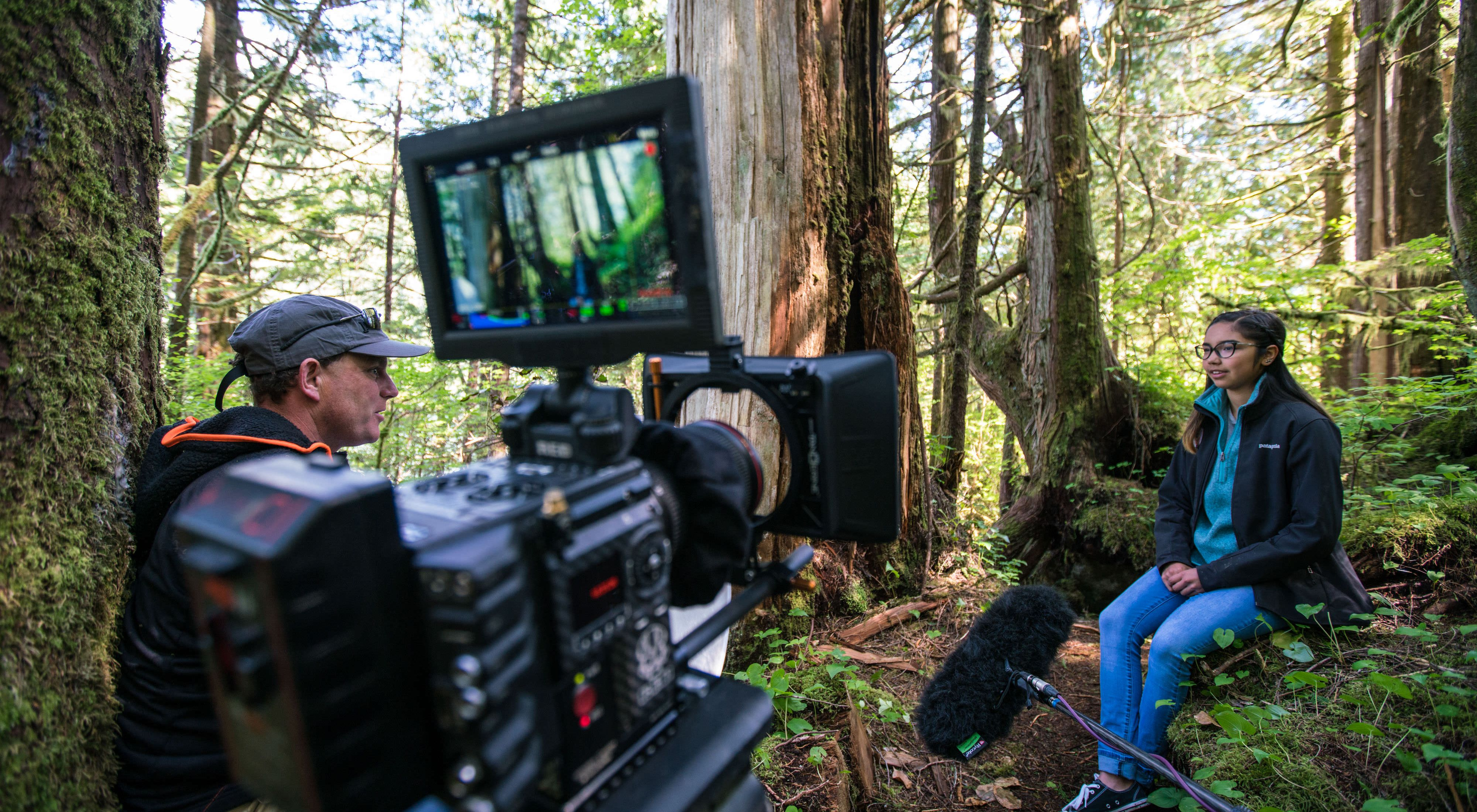Mercedes Robinson-Neasloss was interviewed for a film about the Great Bear Rainforest, where her people have stewarded the land and water for thousands of years.