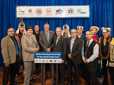 The BC Government and First Nations marked a historic milestone in 2015 when the MaPP plans were completed.