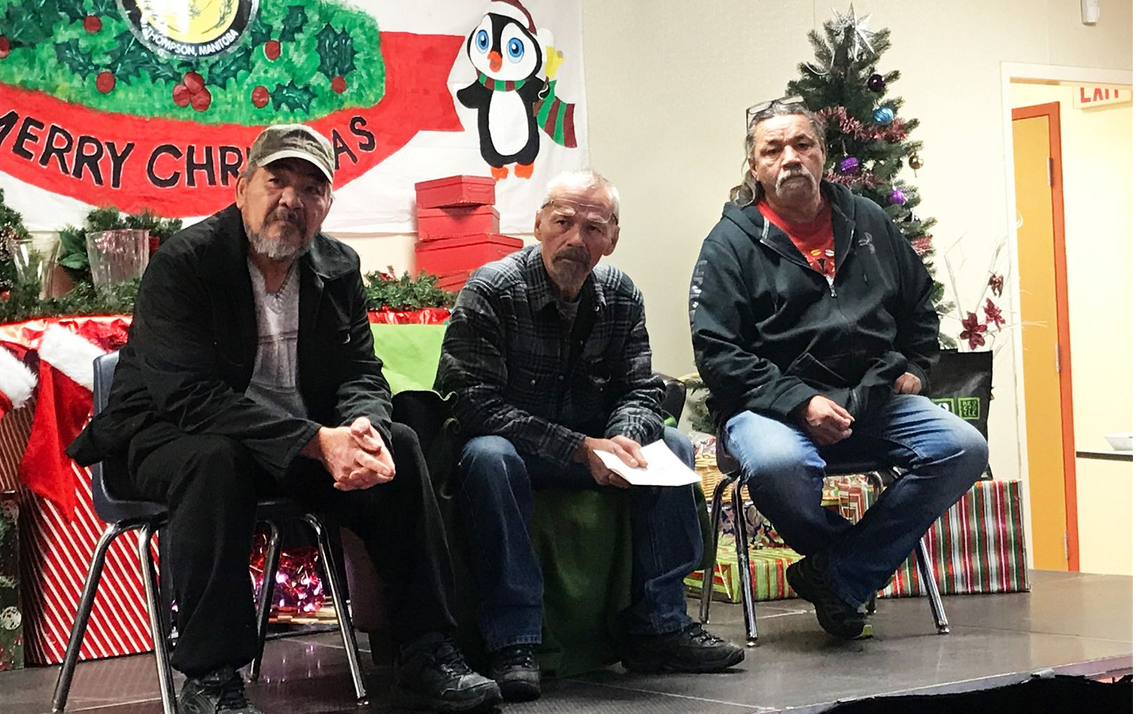 Elders at the northern Manitoba moose workshop organized by Nature United and partners.