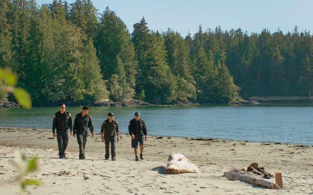 The Ahousaht Resource Stewardship Guardians patrol Tofino, on Vancouver Island.