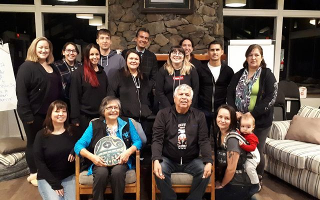 A gathering in January 2019 focused on building capacity in First Nation communities.