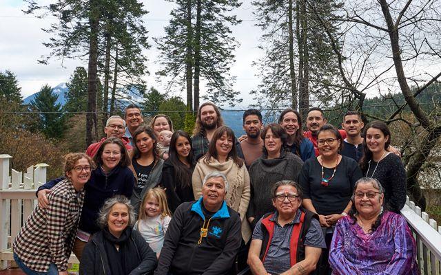 A 2020 gathering of the RILN on Bowen Island, the traditional, ancestral unceded territory of the Skwxwú7mesh (Squamish) and Səlil̓ilw̓ətaʔɬ (Tsleil-Waututh).