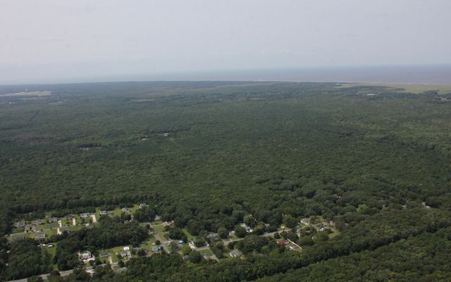 Aerial view of Cape Viking