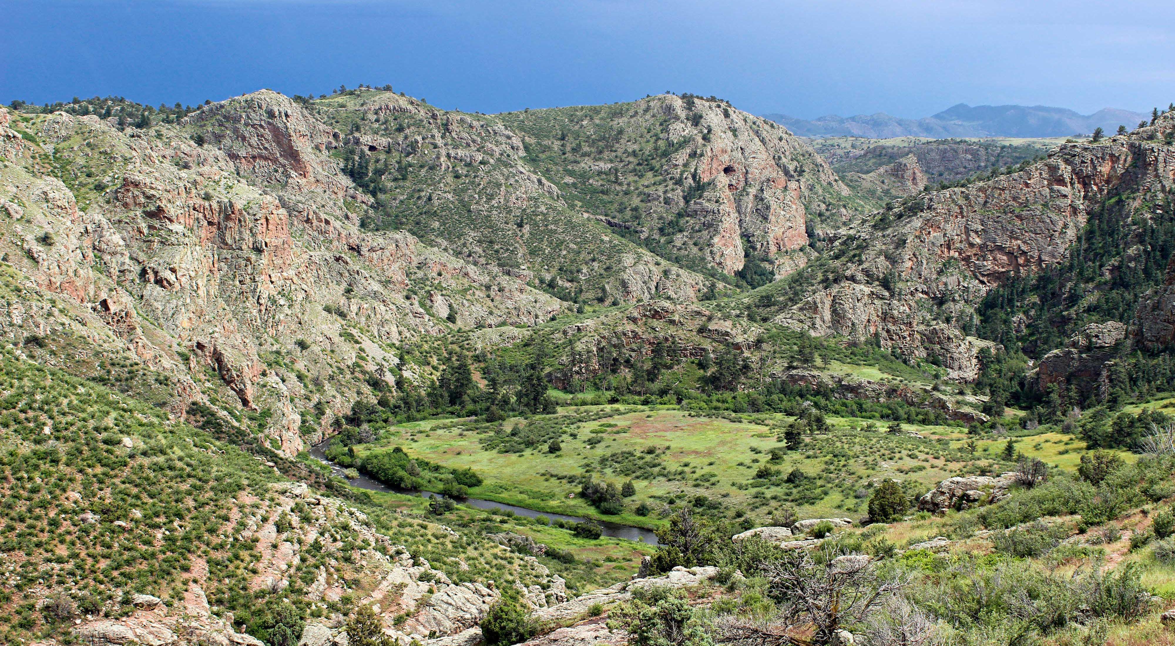 Phantom Canyon in Colorado