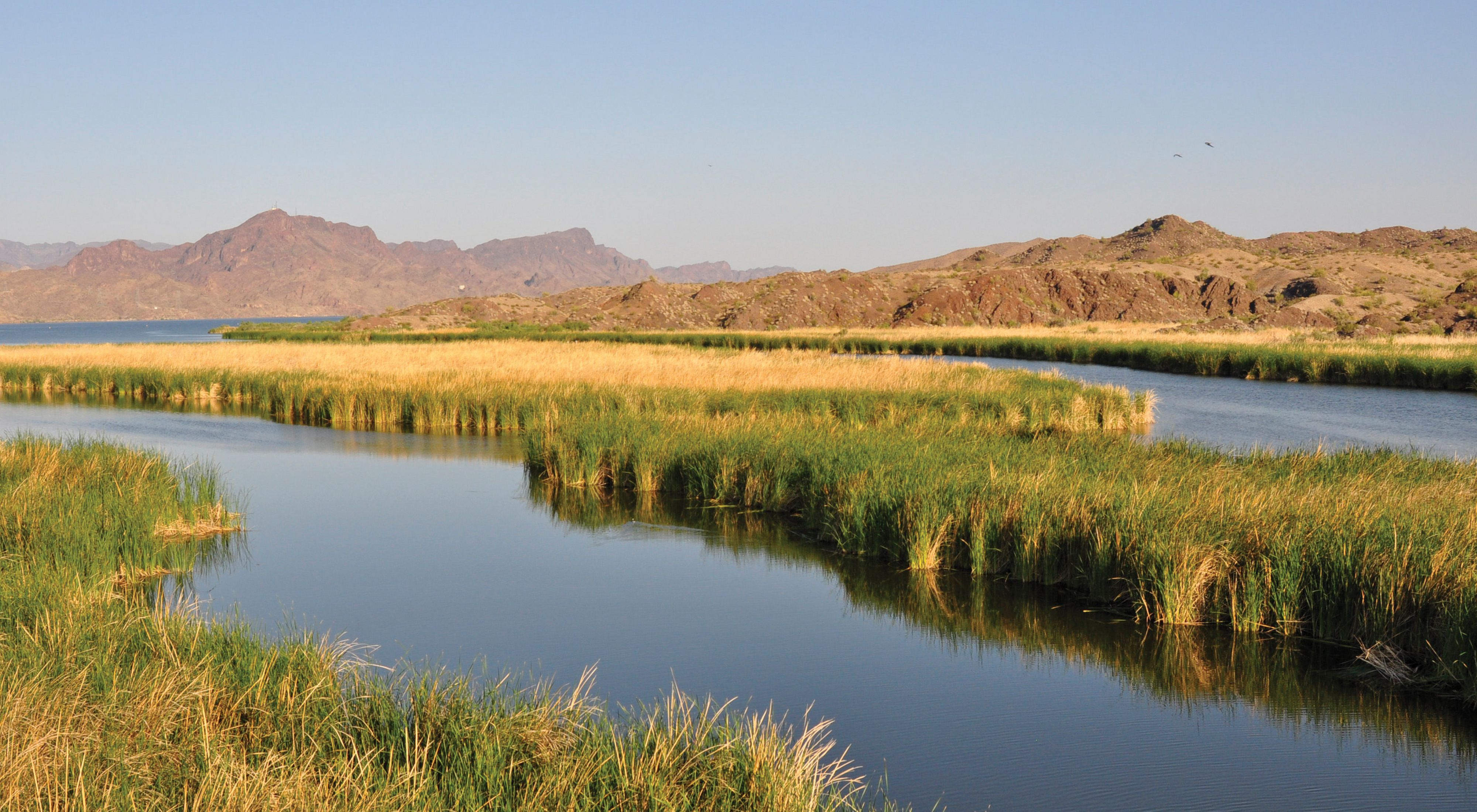 part of the Colorado River system.