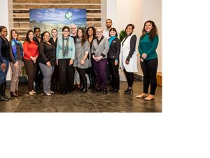 The Nature Conservancy's Employee Resource Groups (ERG) gather at the Worldwide Office.