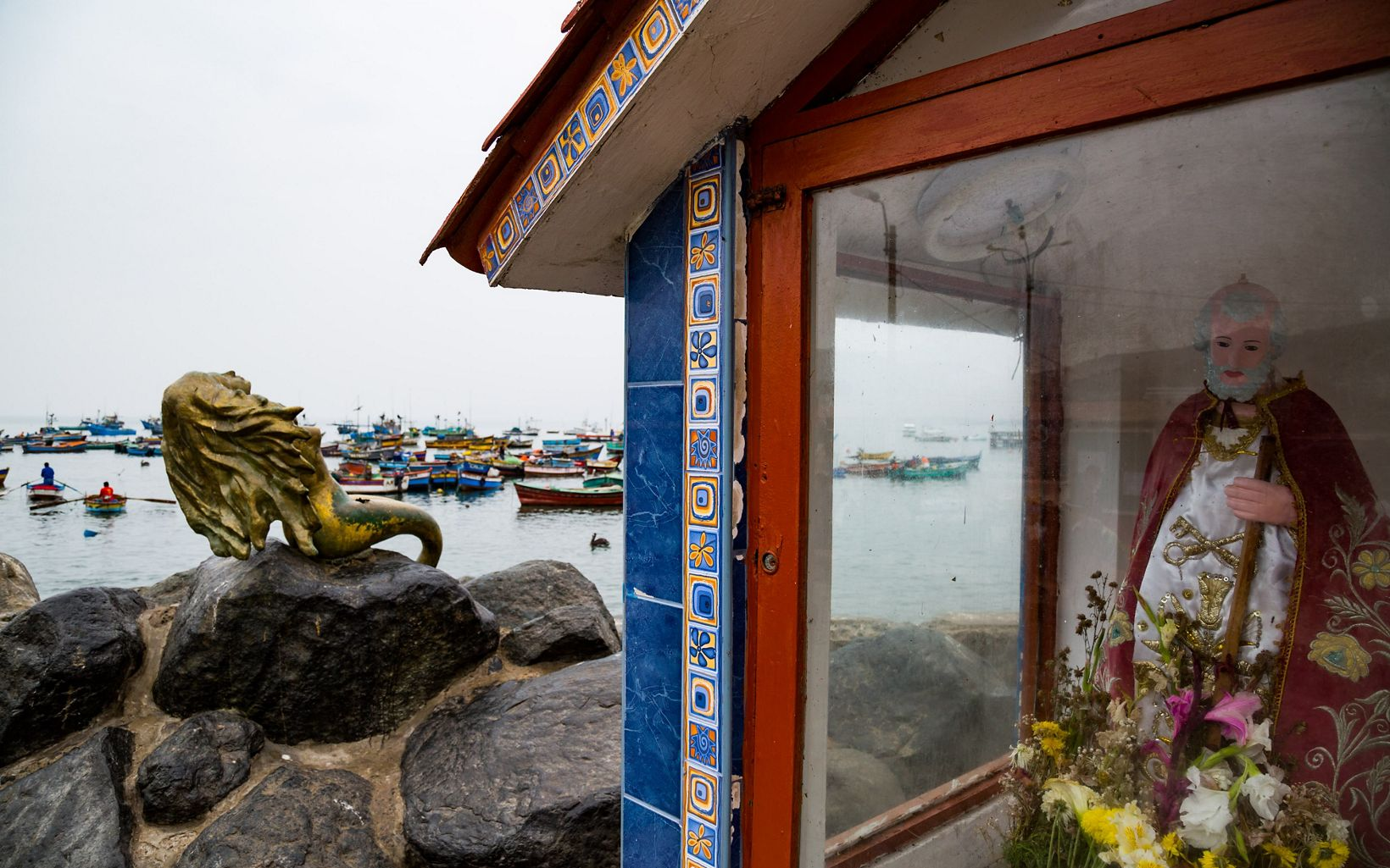There are about 500 registered fishermen in Ancon, a small fishing town and seaside vacation destination about an hour north of Lima, Peru.