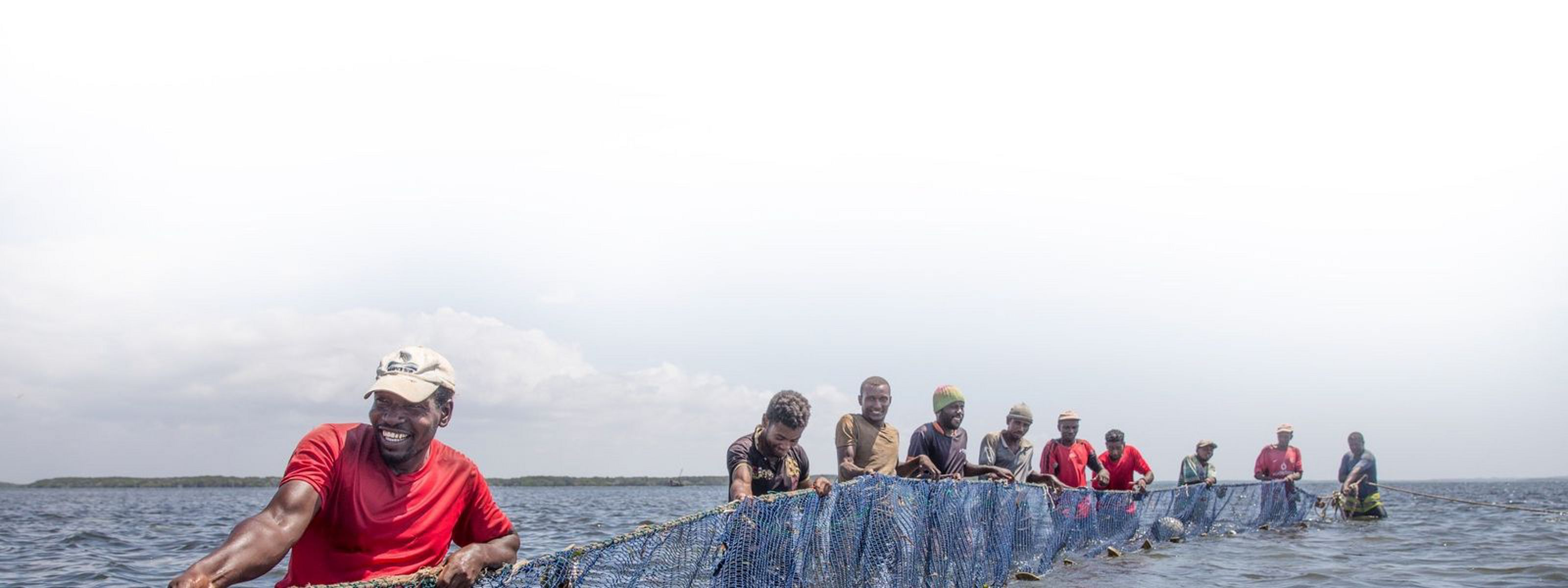 Fishermen from Pate Island in Lamu County.