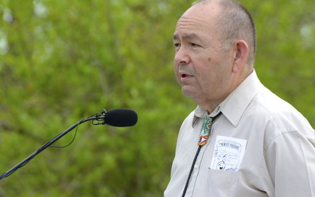 Governor Anoatubby of the Chickasaw Nation speaks about their partnership with The Nature Conservancy.