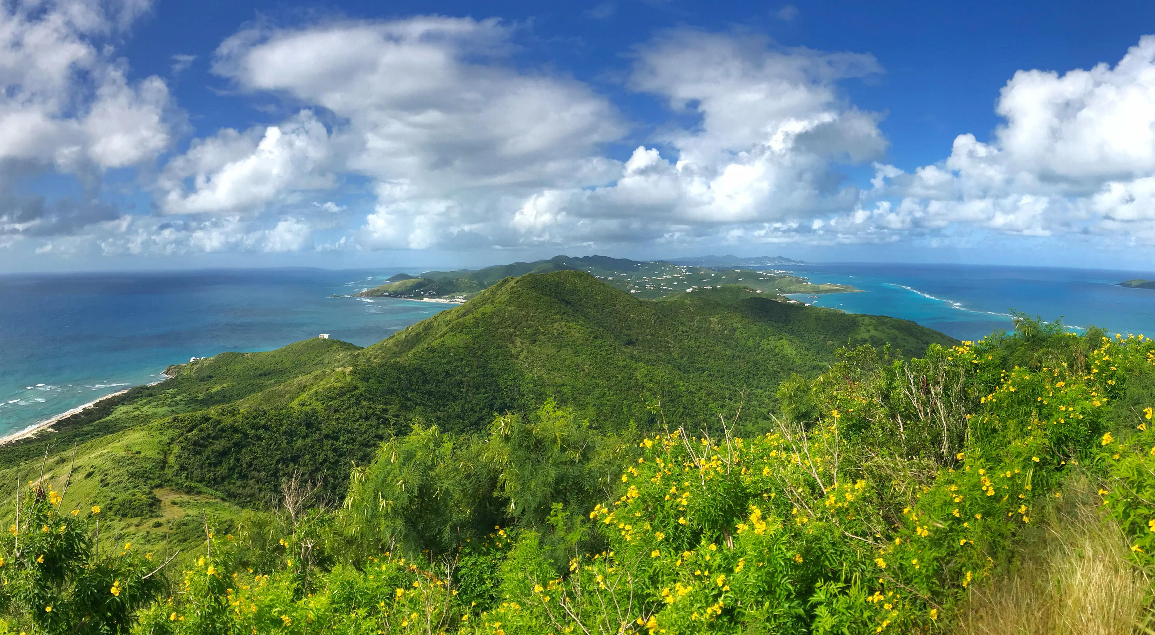 View from a St. Croix hilltop
