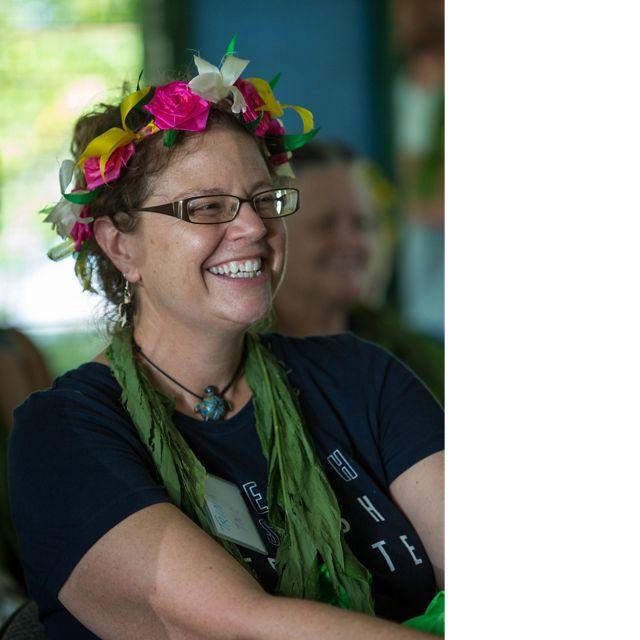 Headshot of Trina Leberer.