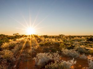 Arid land in Australia