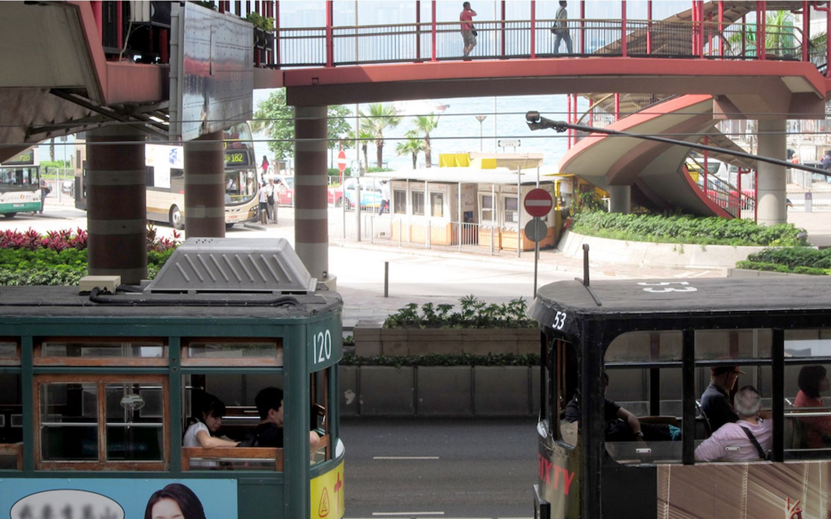 or other forms of public transportation in Hong Kong to reduce your carbon footprint.