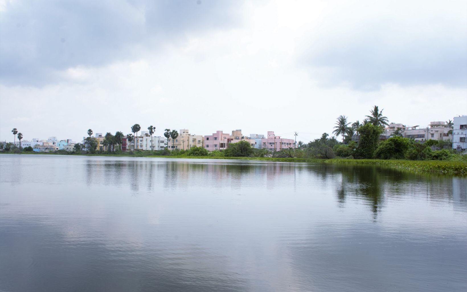 at Lake Sembakkam
