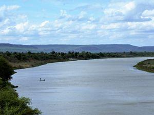 Serene waters of River Narmada