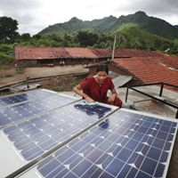 women in Tinginaput, India are transforming their remote village with solar powered electricity
