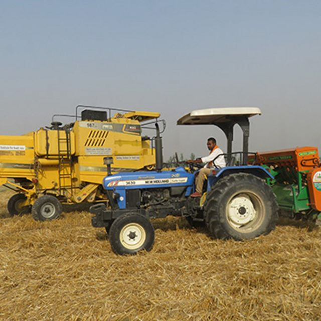 The average farmer who uses the Happy Seeder can generate up to 20% more profits than those who burn their fields.