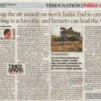 End to crop burning is achievable and farmers can lead the way