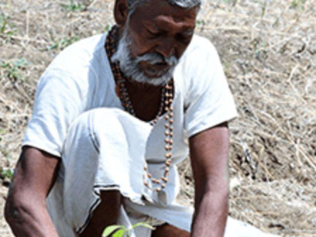 Resident of Ajera village.