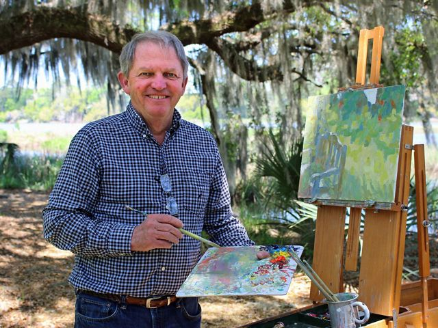 Avid birder, painter and trustee for The Nature Conservancy in South Carolina.