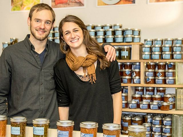 Kelp from the sea is a key ingredient in the product offerings of Barnacle Foods, a Path to Prosperity contest winner.