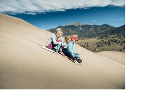 Dunes National Park in Colorado.