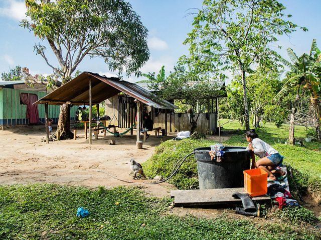 en las comunidades indígenas del Amazonas