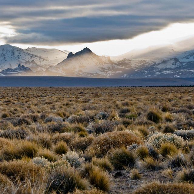 Vista dos Andes