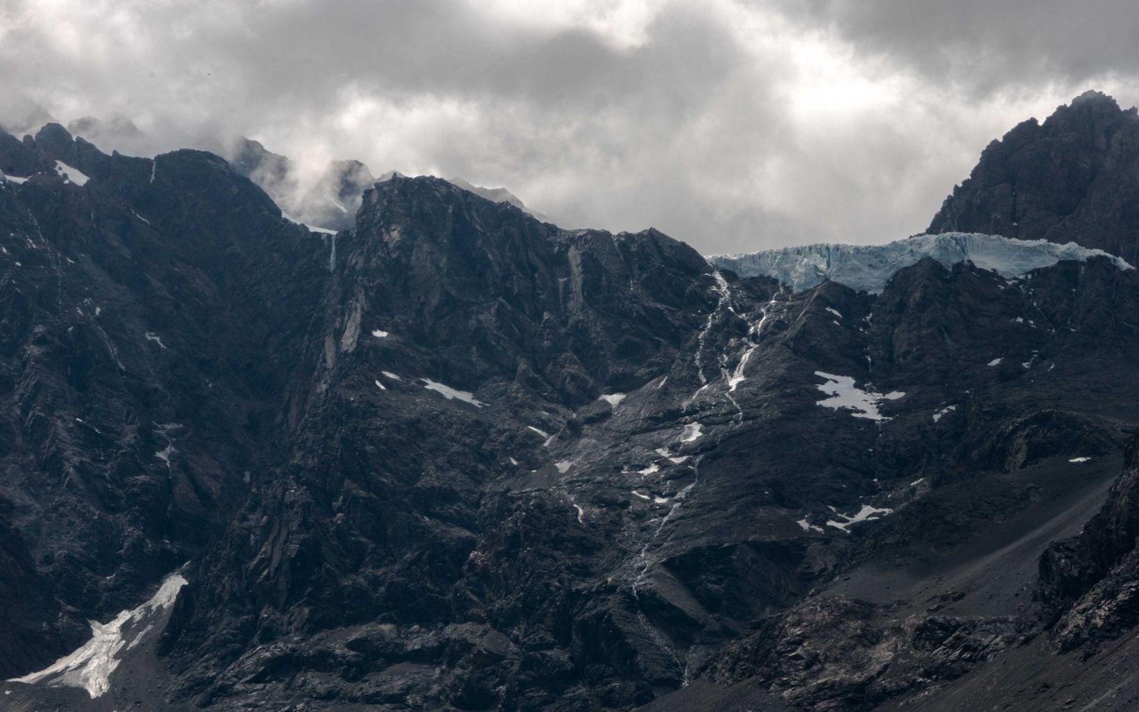 Glaciares en la cuenca del Maipo