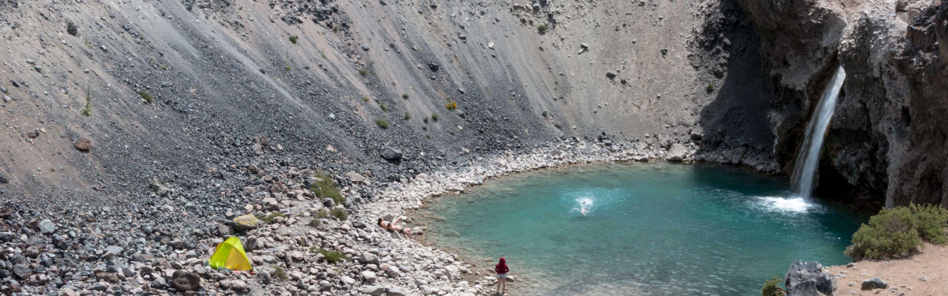 Fuentes de agua en la cuenca del Maipo