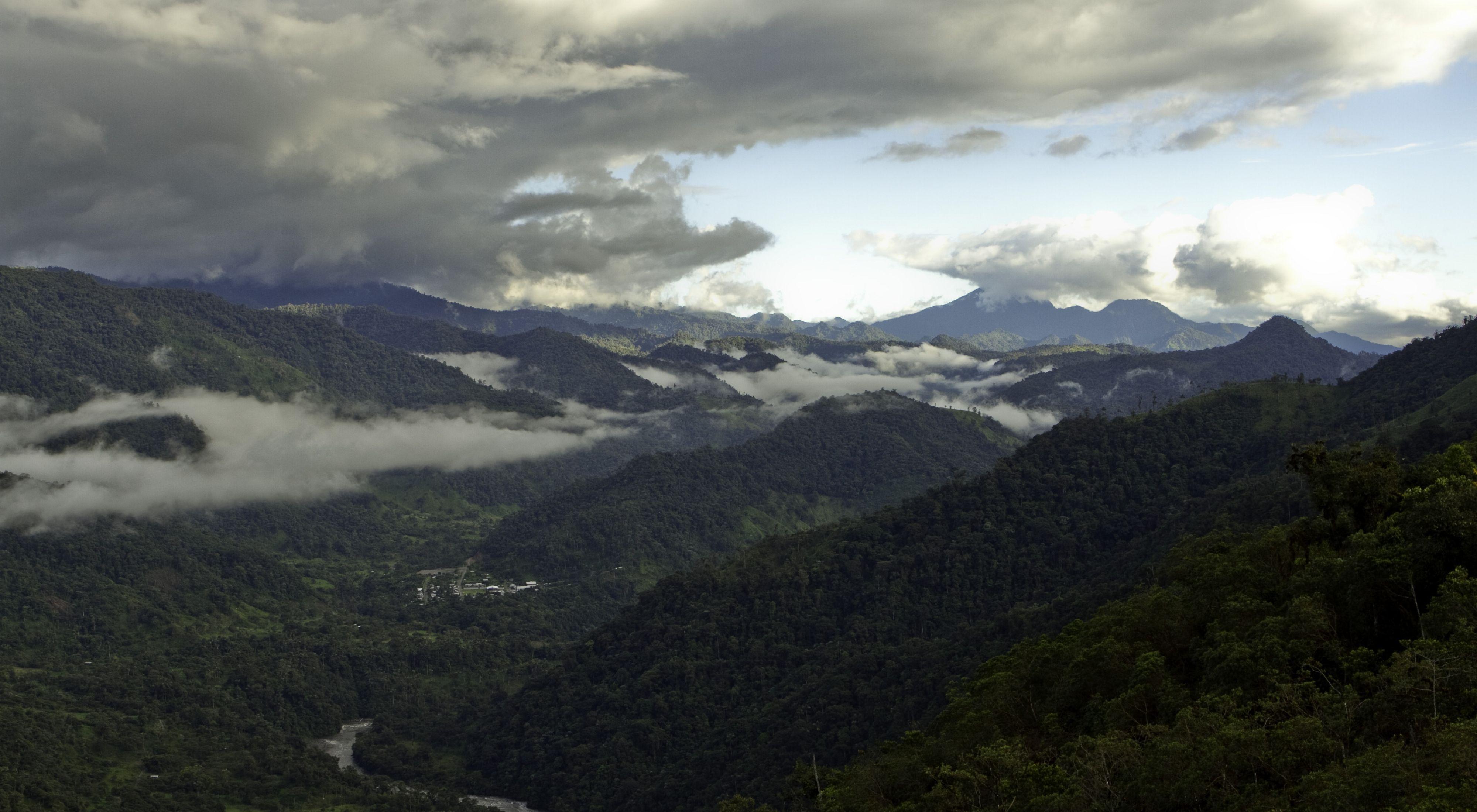 Landscape in Ecuador