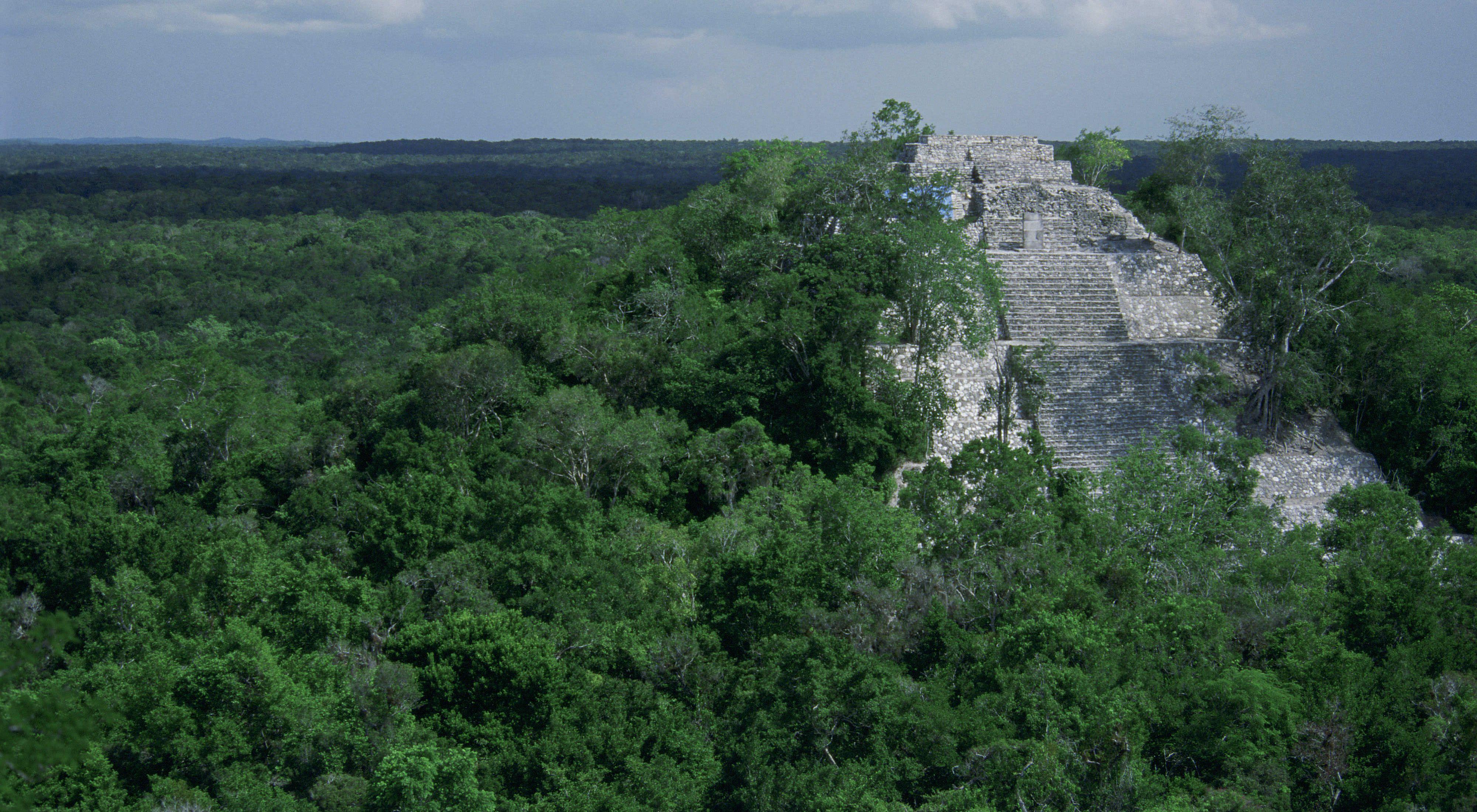Ruinas del imperio Maya