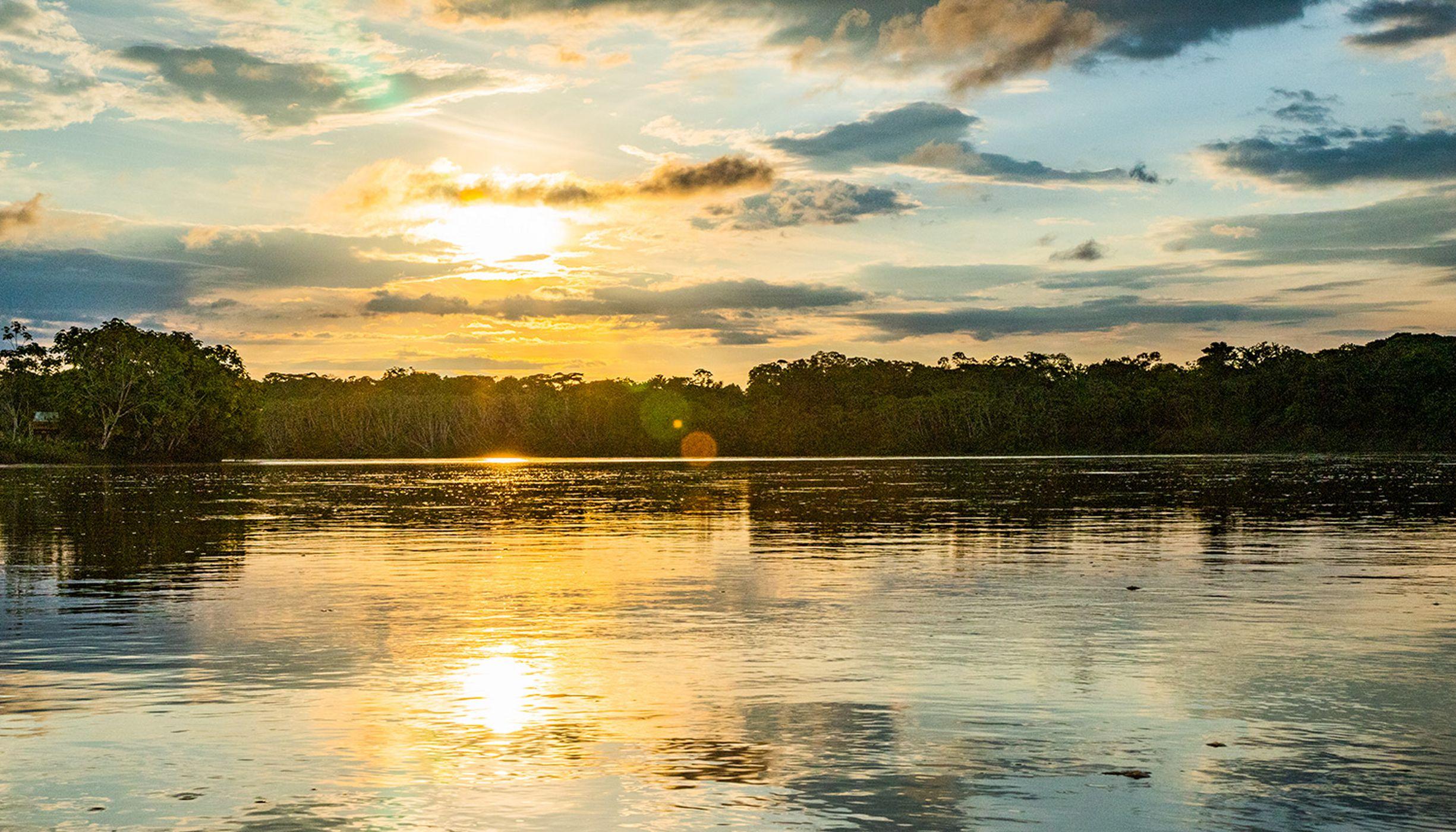 en la cuenca hidrográfica del Amazonas