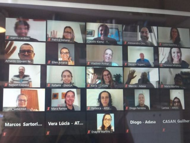 The virtual workshop brought together representatives from all regions of the country