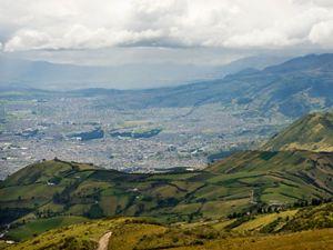 Vista de la ciudad de Quito