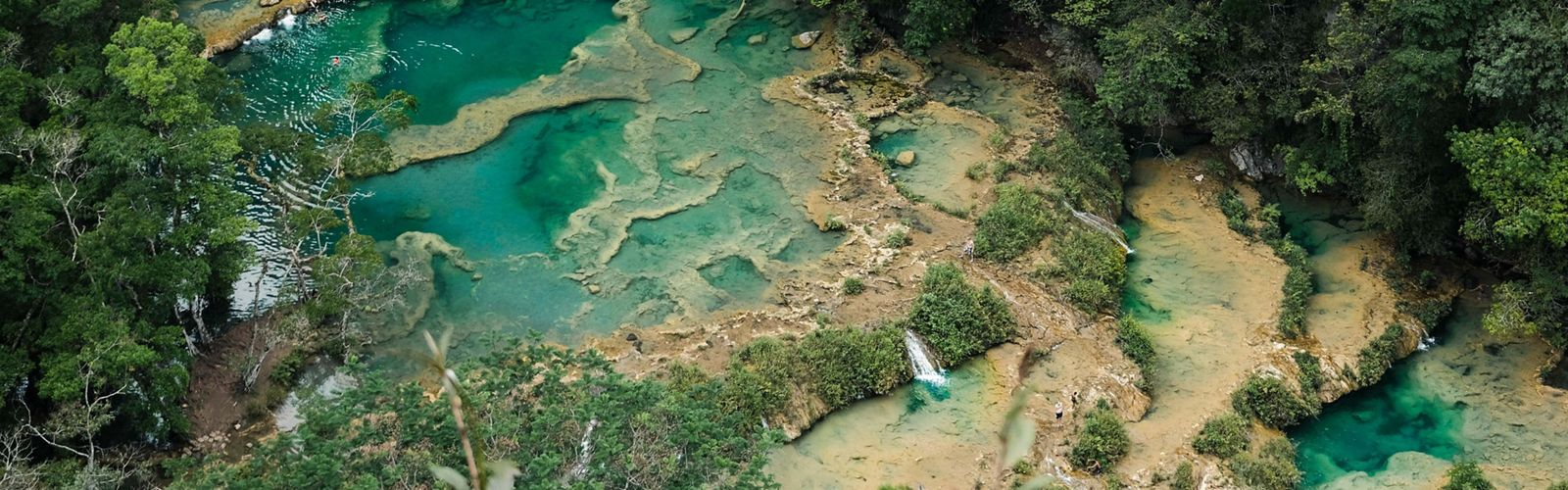 The natural pools of Semuc Champey in Guatemala are perhaps one of the most impressive natural wonders on the planet.