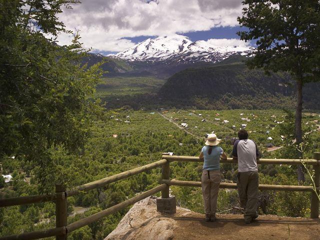 Valle Las Trancas, laguna del Laja.