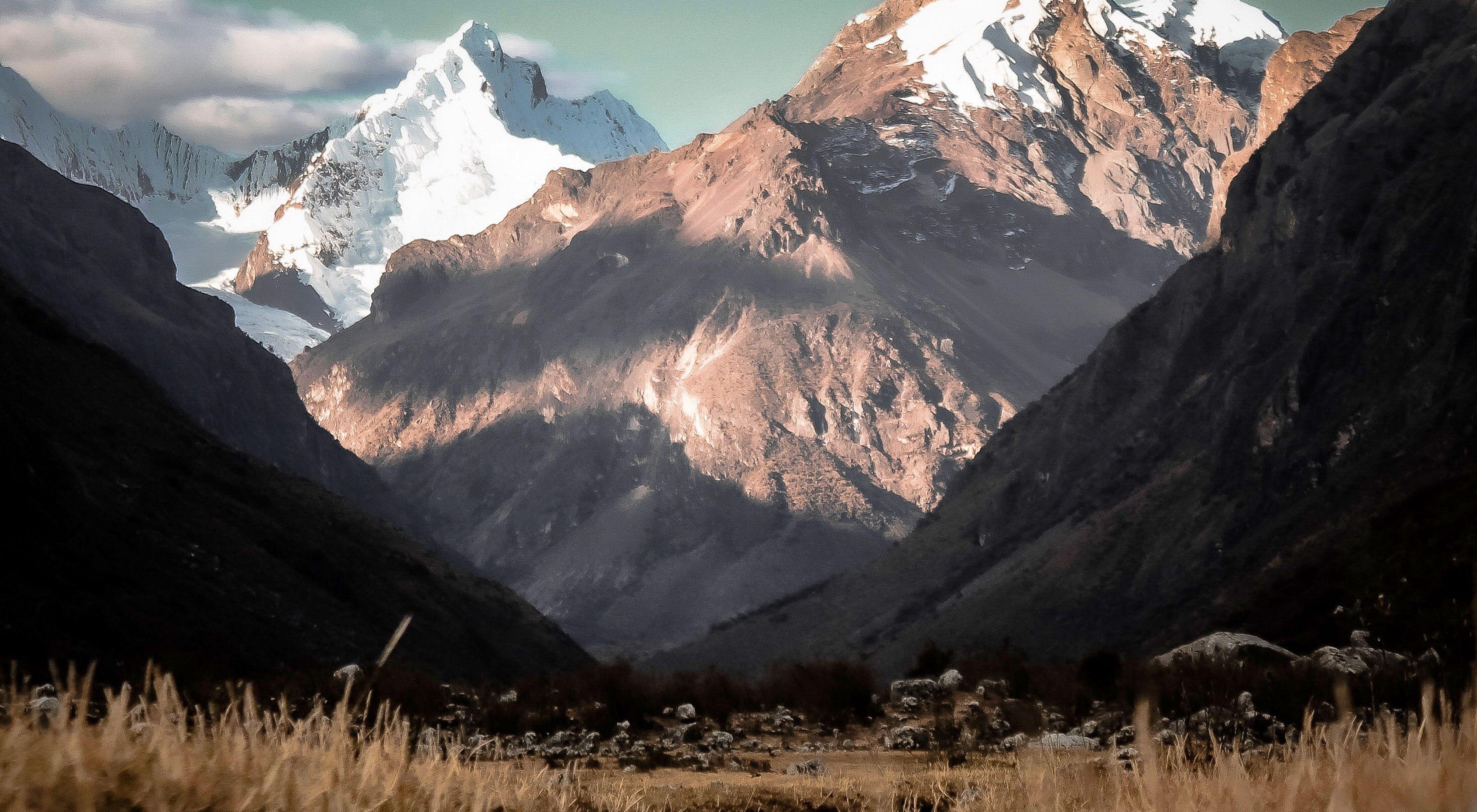 Quebrada Quillcayhuanca, Huaraz-Ancash