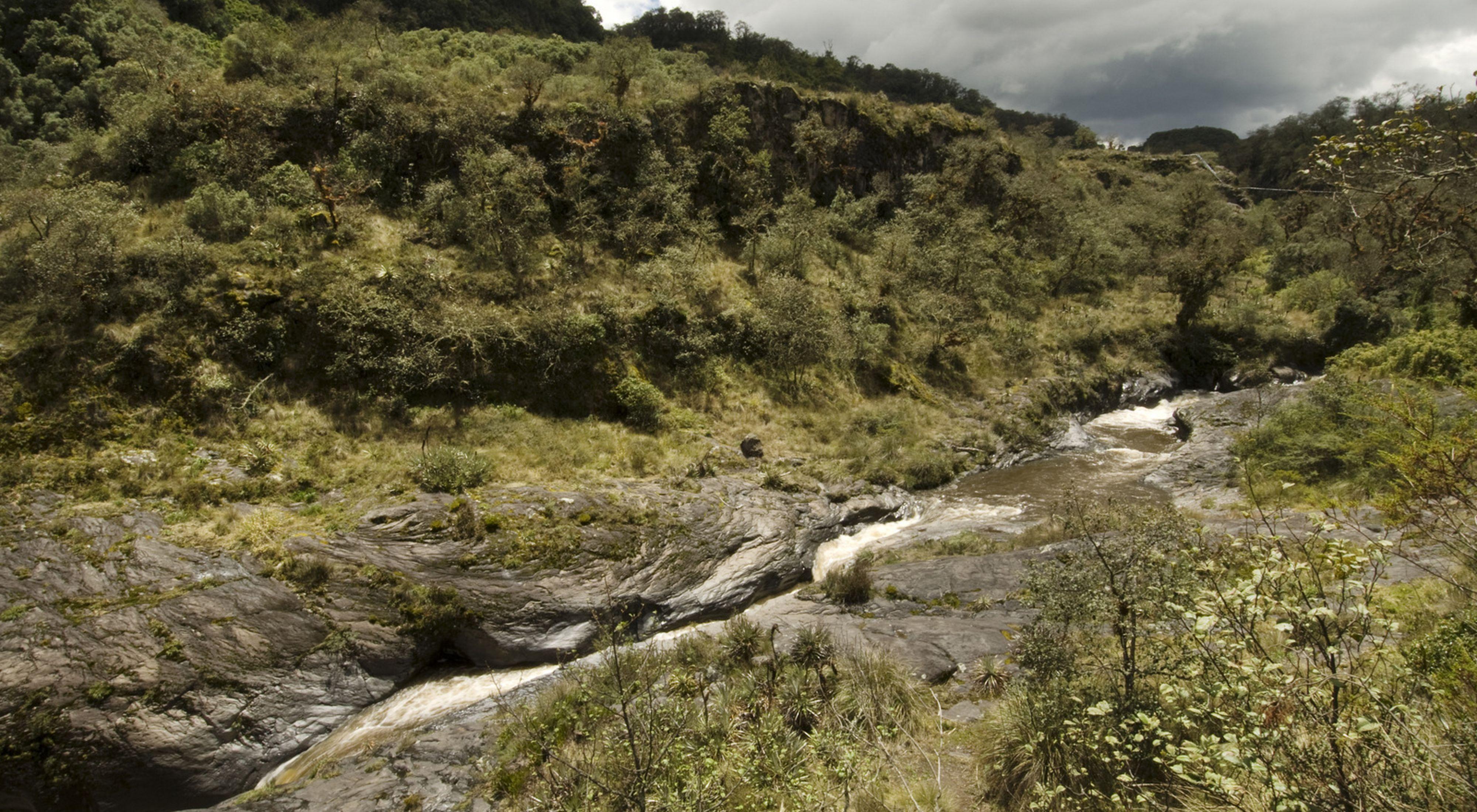 Paisaje natural de Ecuador
