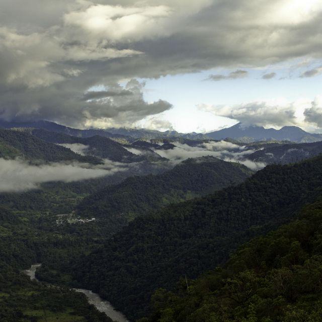 Paisaje de Ecuador