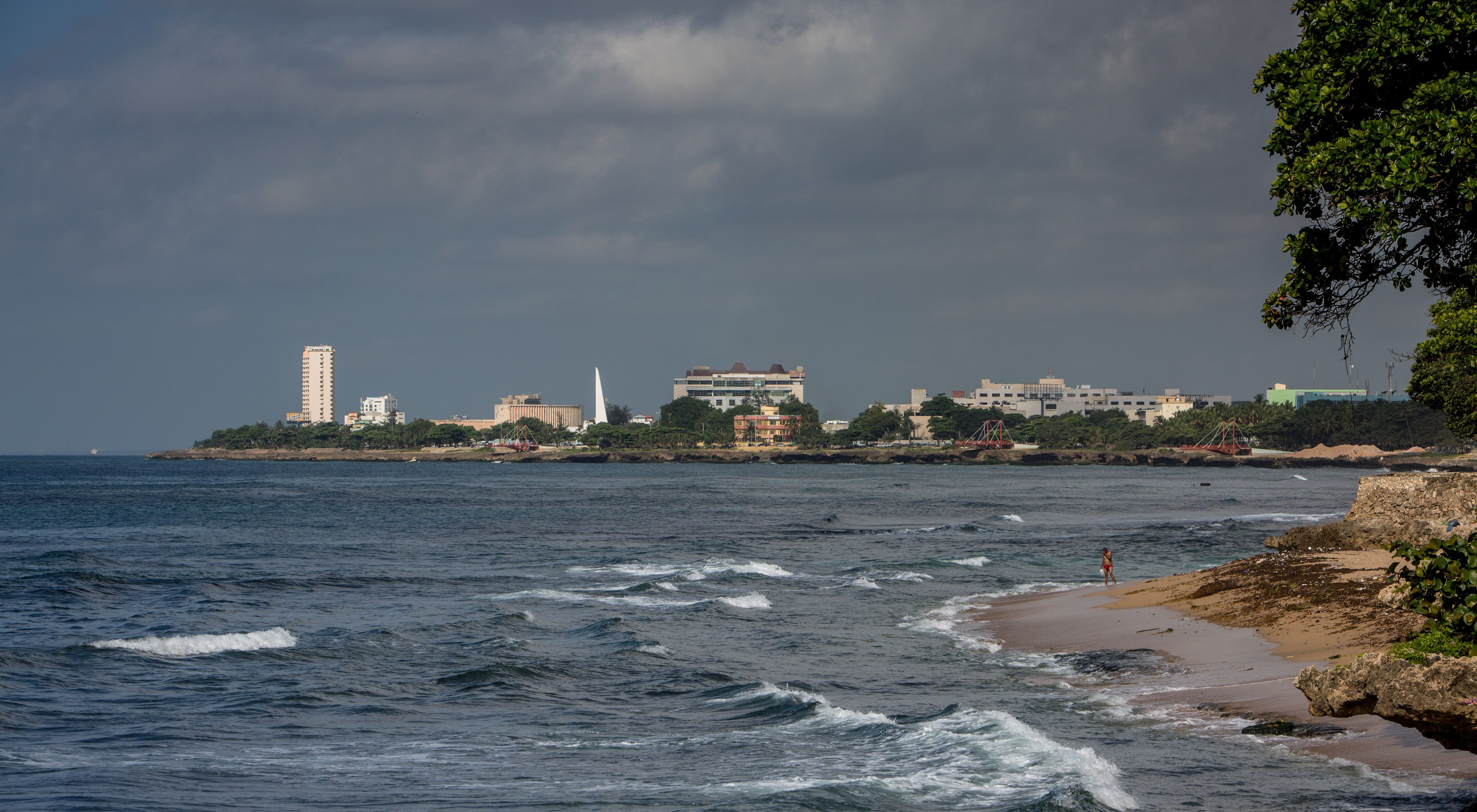Vista de Santo Domingo República Dominicana